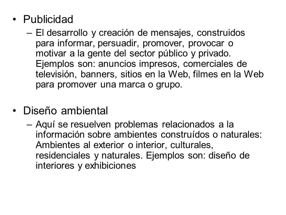 Publicidad Diseño ambiental