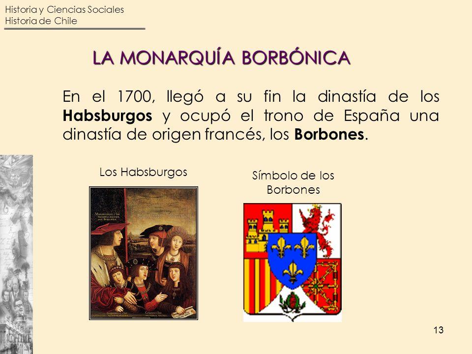 LA MONARQUÍA BORBÓNICA