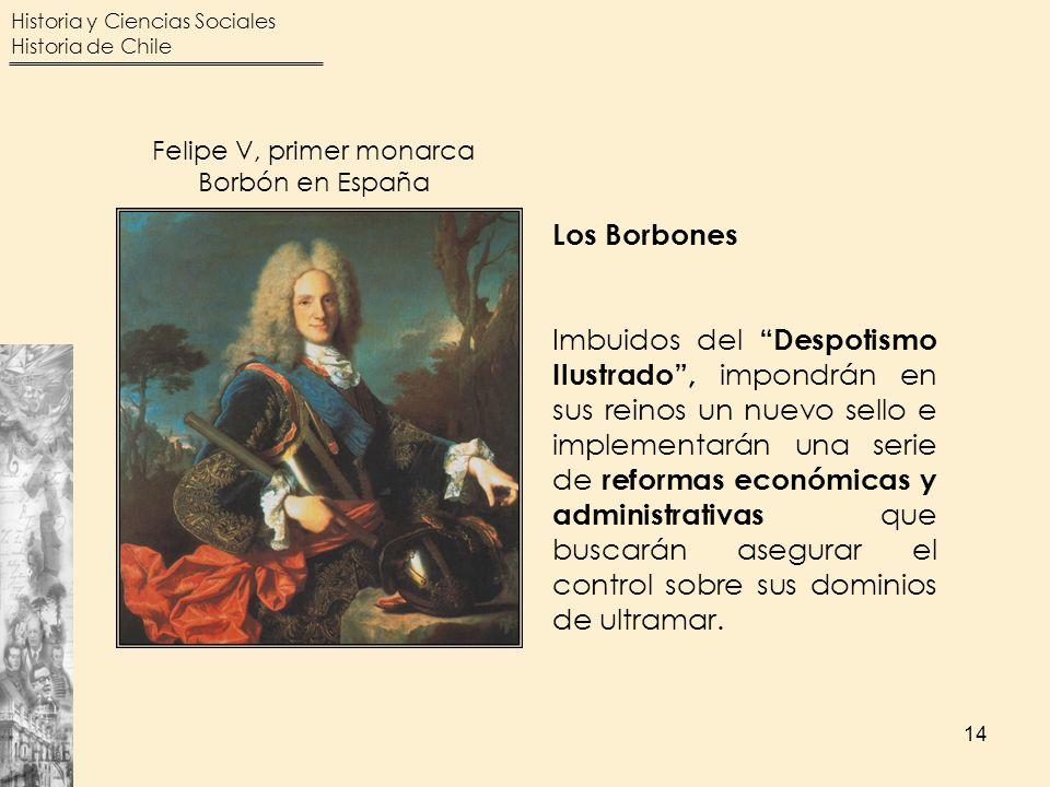 Felipe V, primer monarca Borbón en España