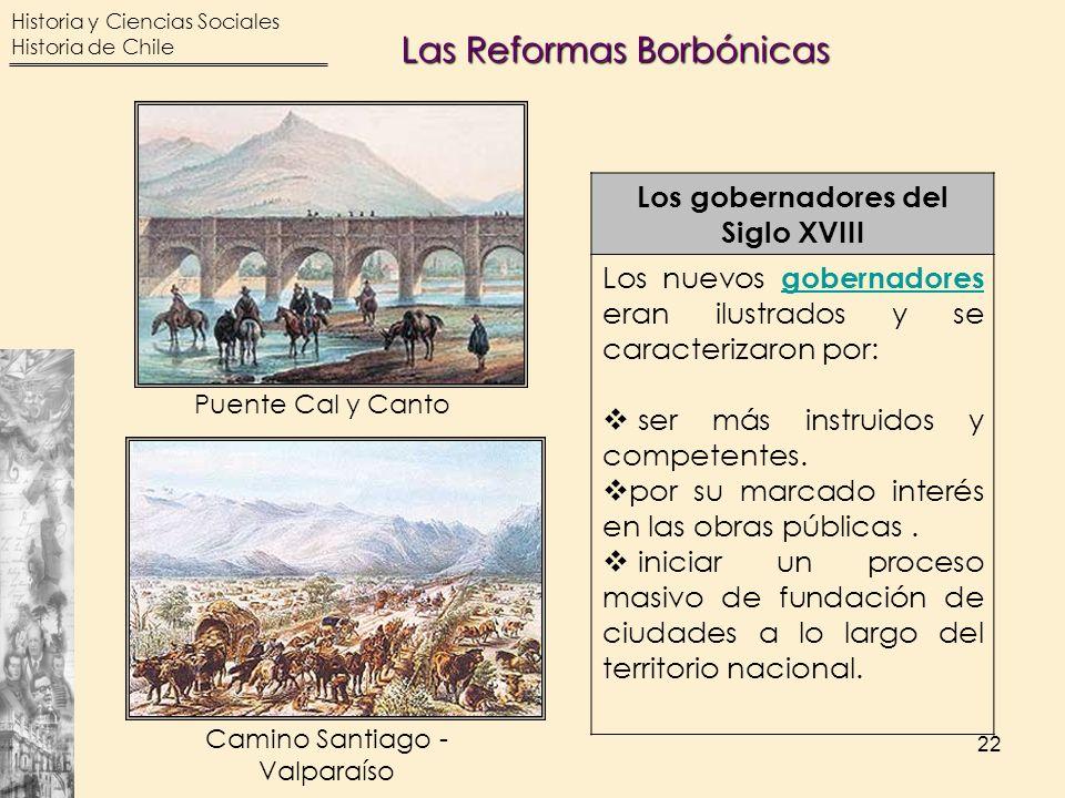Camino Santiago - Valparaíso