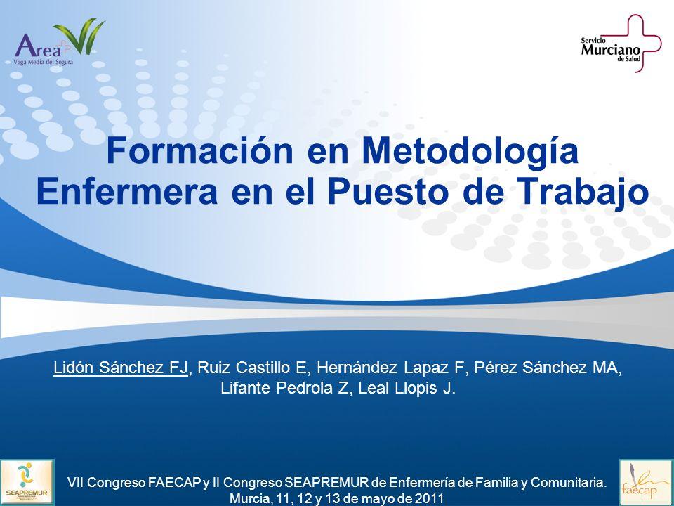 Formación en Metodología Enfermera en el Puesto de Trabajo