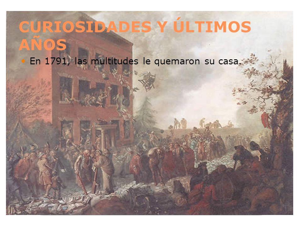 CURIOSIDADES Y ÚLTIMOS AÑOS