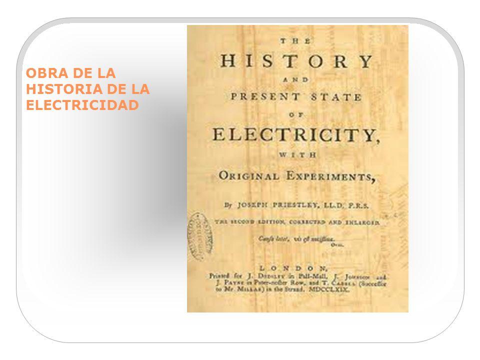 OBRA DE LA HISTORIA DE LA ELECTRICIDAD