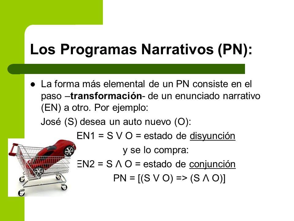 Los Programas Narrativos (PN):