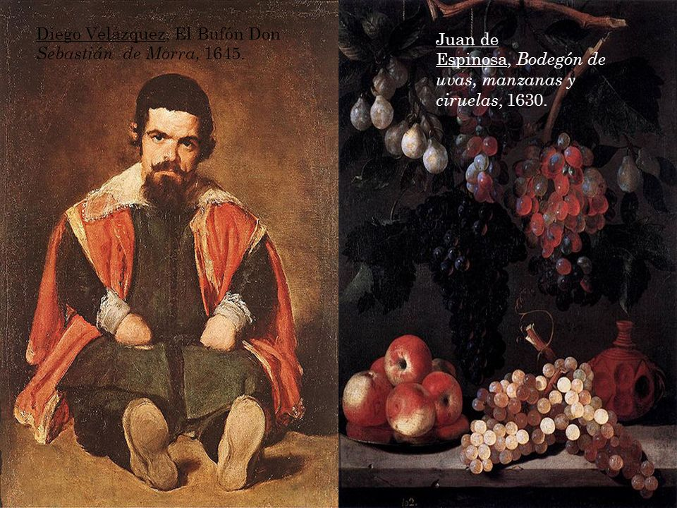 Diego Velázquez, El Bufón Don Sebastián de Morra, 1645.