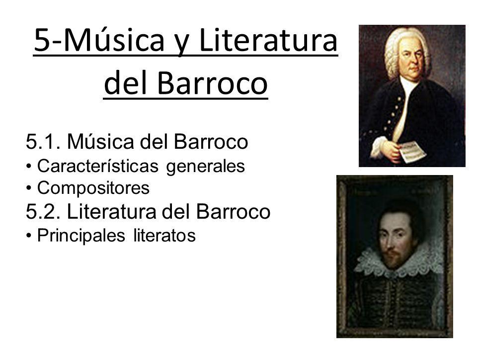 5-Música y Literatura del Barroco