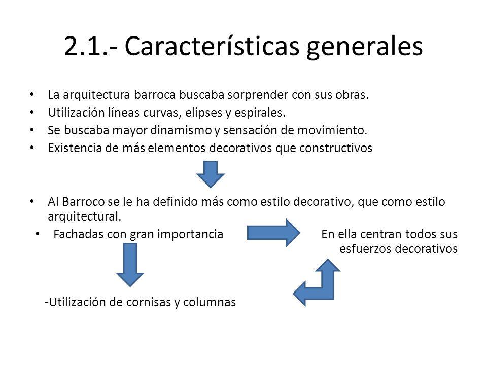2.1.- Características generales