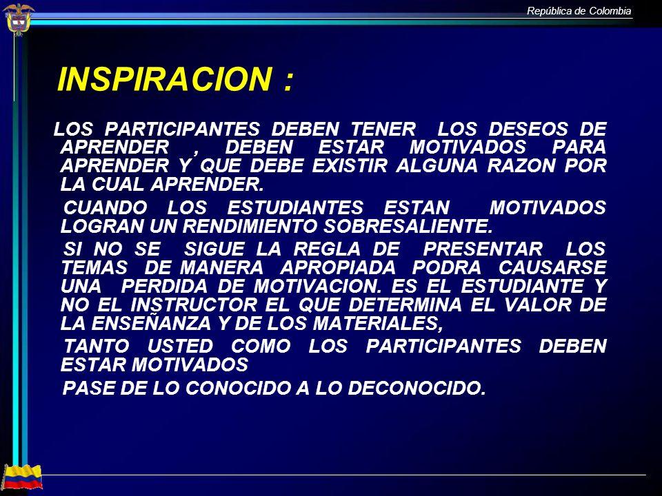 INSPIRACION :
