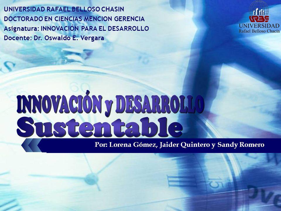 Sustentable INNOVACIÓN y DESARROLLO