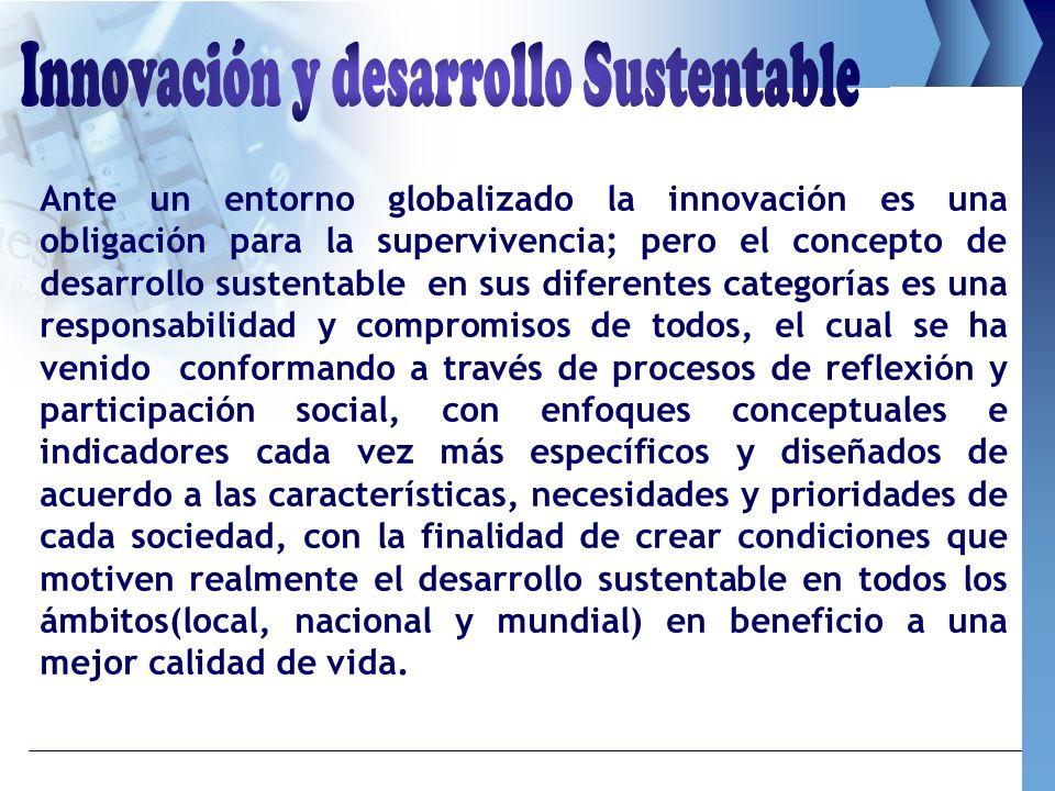 Innovación y desarrollo Sustentable