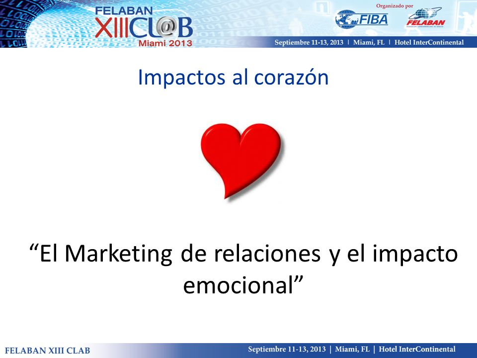 El Marketing de relaciones y el impacto emocional