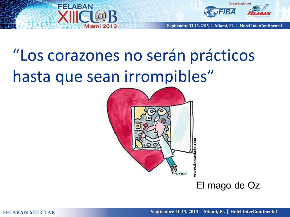 Los corazones no serán prácticos hasta que sean irrompibles