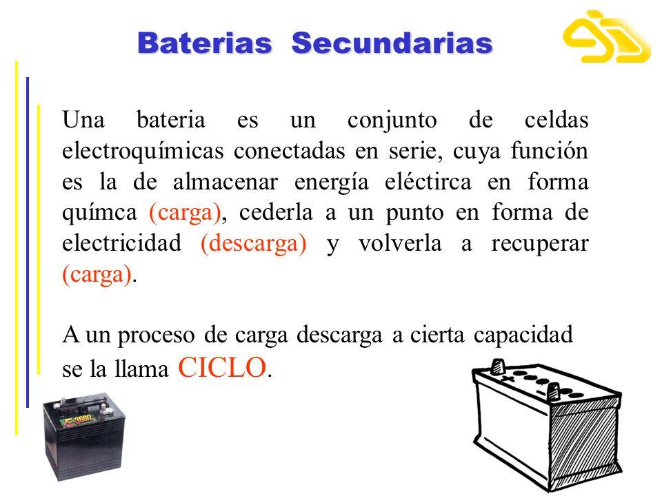 Baterias Secundarias