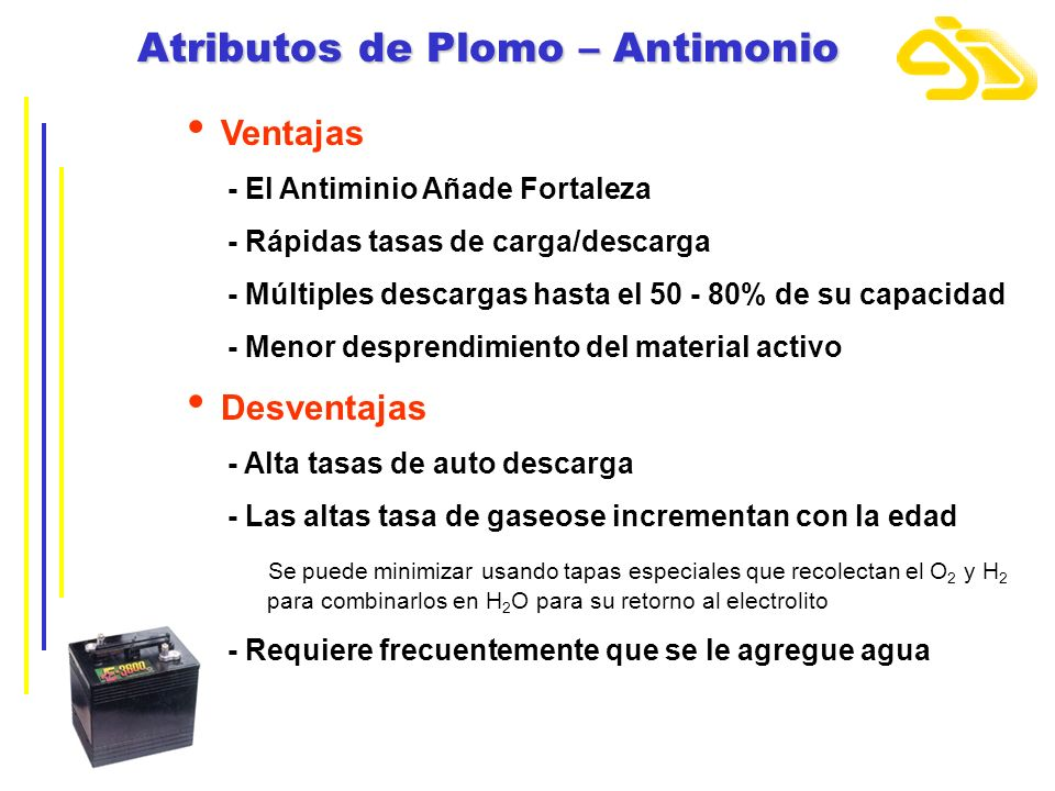 Atributos de Plomo – Antimonio