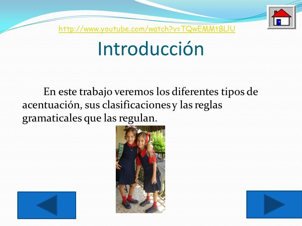Introducción http://www.youtube.com/watch v=TQwEMMtBLlU.