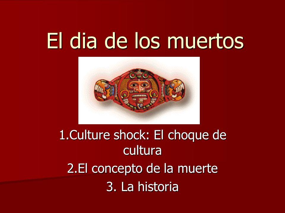 El dia de los muertos 1.Culture shock: El choque de cultura