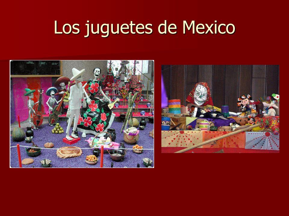 Los juguetes de Mexico