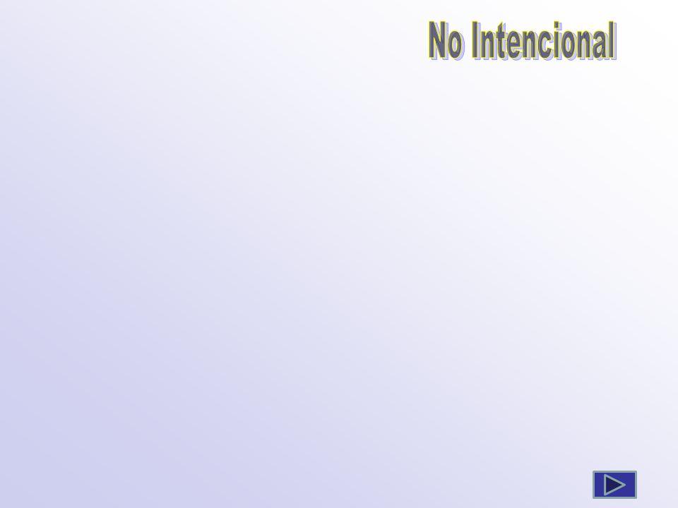 No Intencional