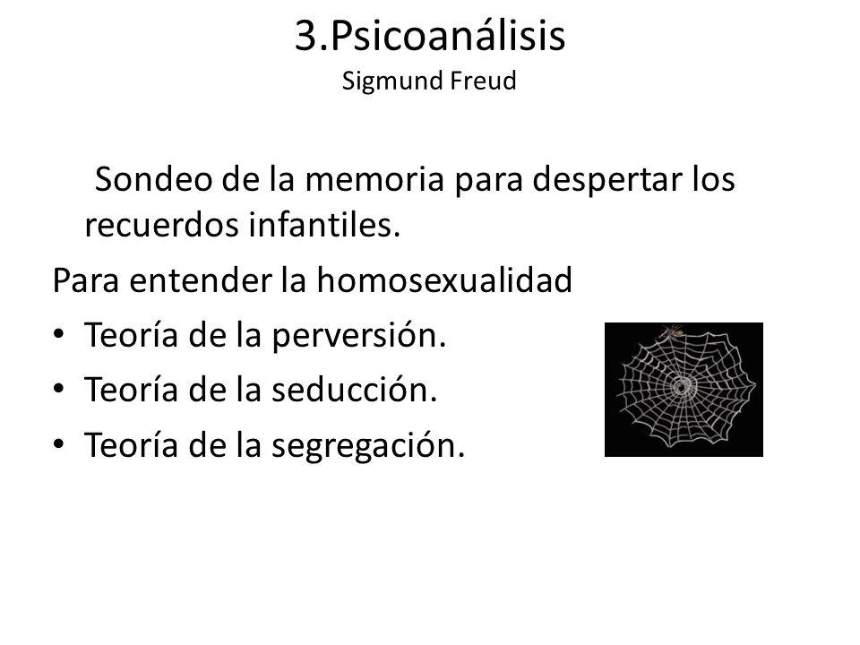 3.Psicoanálisis Sigmund Freud