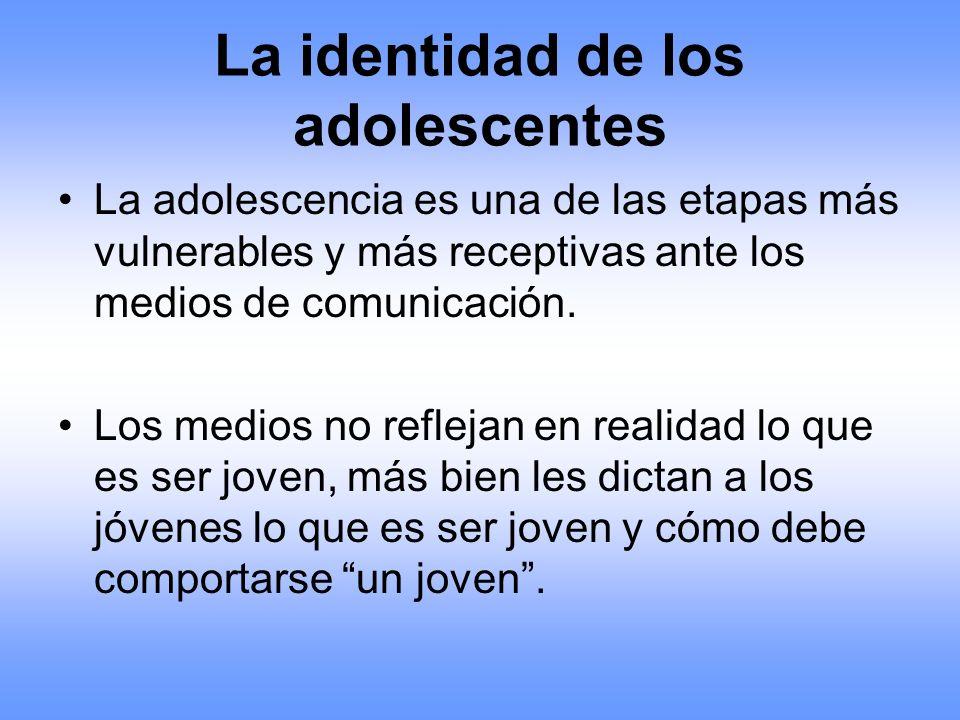 La identidad de los adolescentes