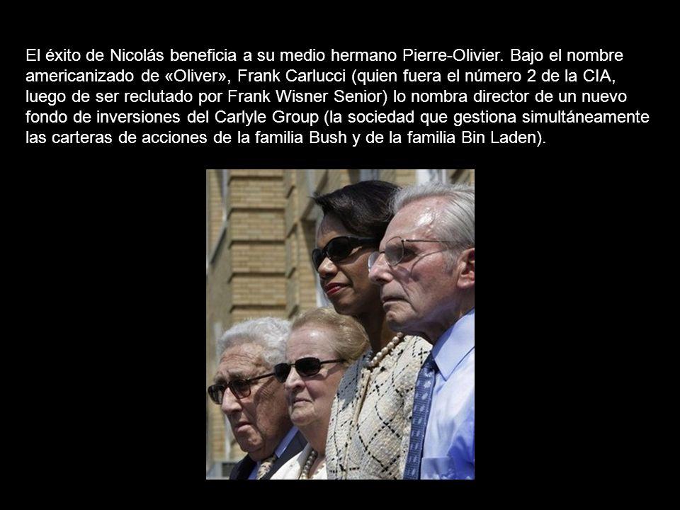 El éxito de Nicolás beneficia a su medio hermano Pierre-Olivier