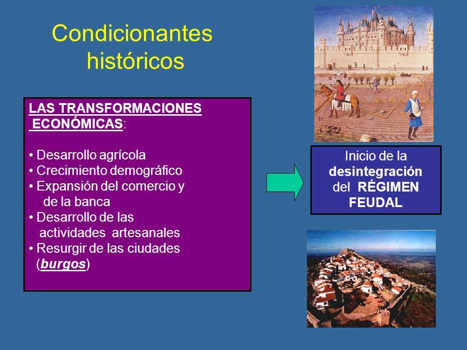 Condicionantes históricos