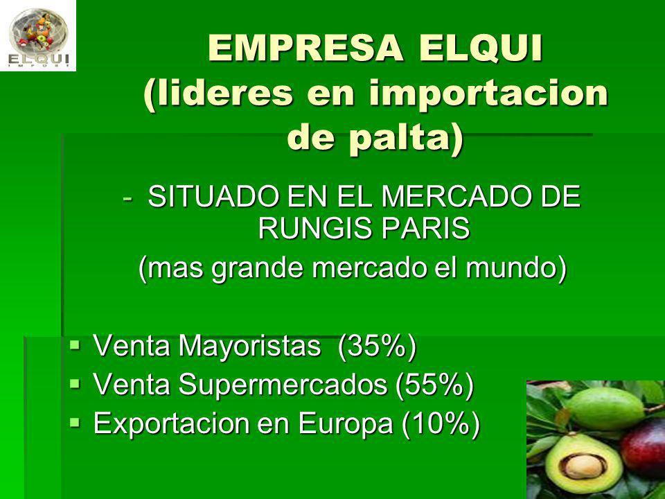 EMPRESA ELQUI (lideres en importacion de palta)