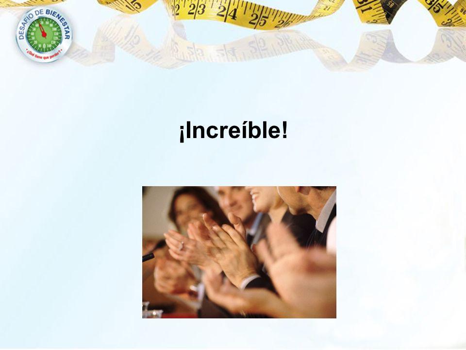 ¡Increíble! 10