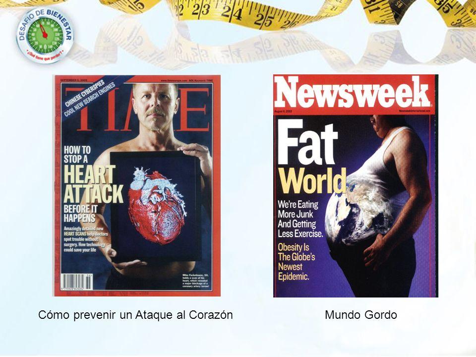 Cómo prevenir un Ataque al Corazón Mundo Gordo