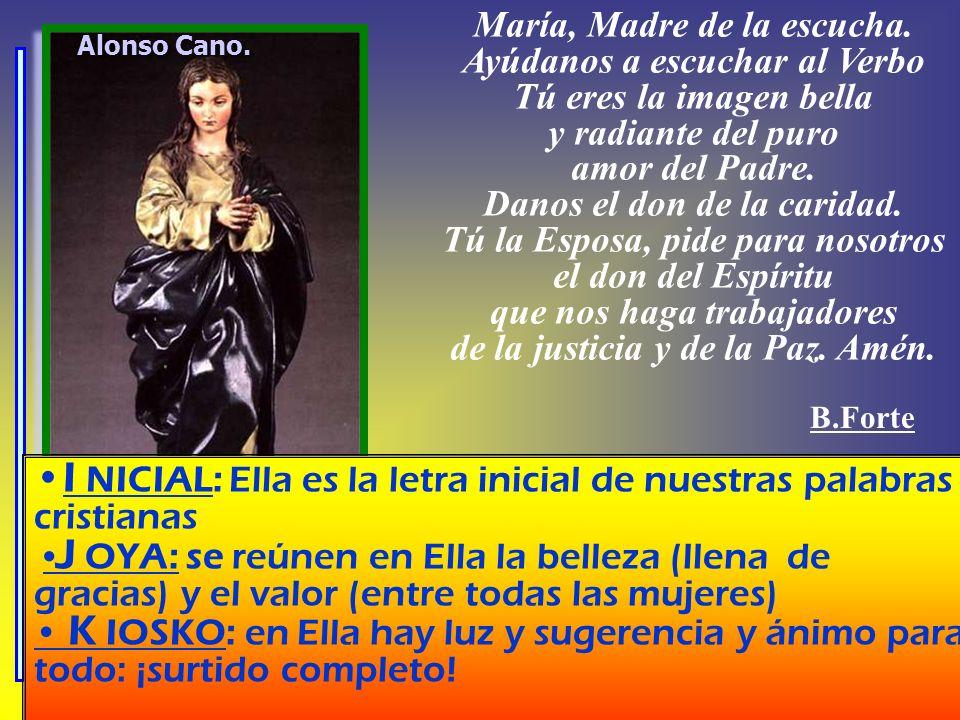 María, Madre de la escucha