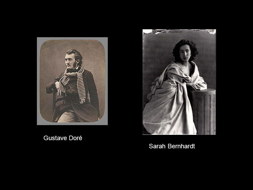 Gustave Doré Sarah Bernhardt