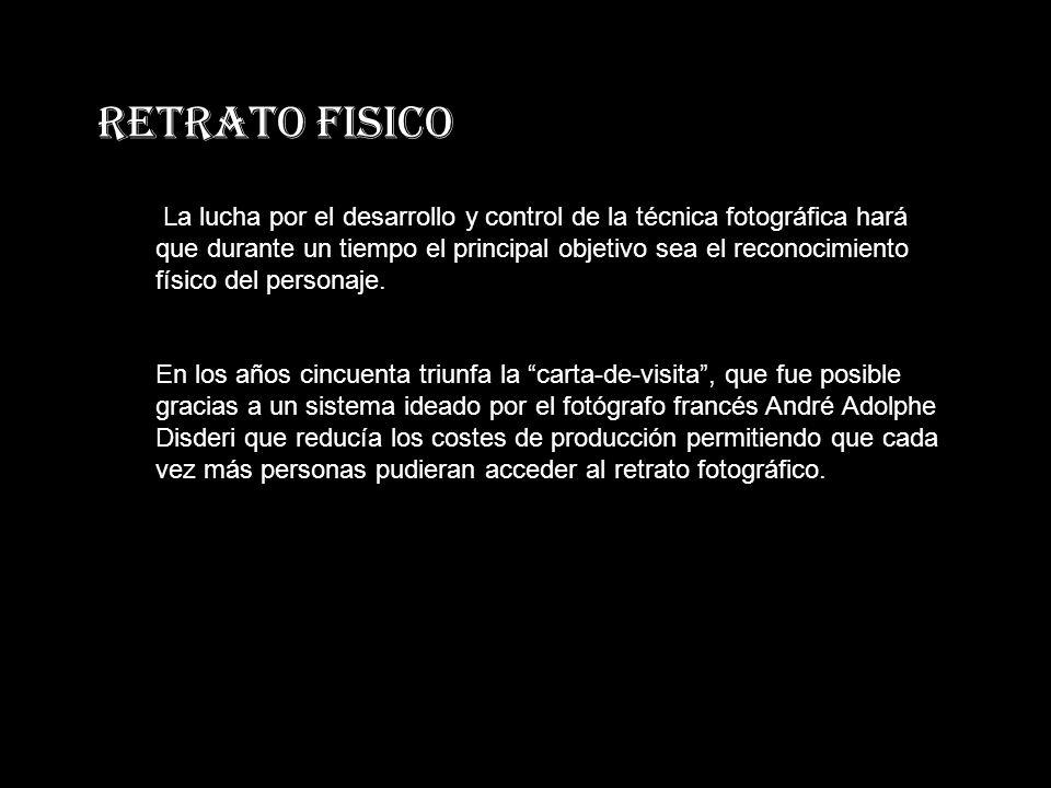 RETRATO FISICO