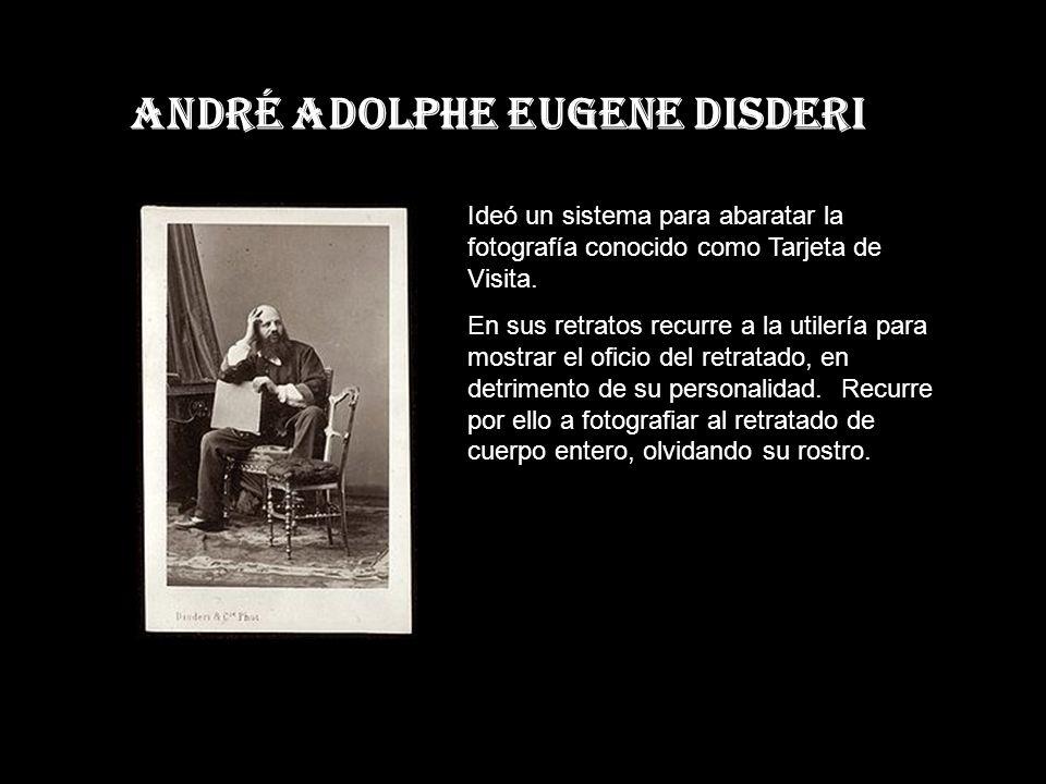 André Adolphe EUGENE DISDERI