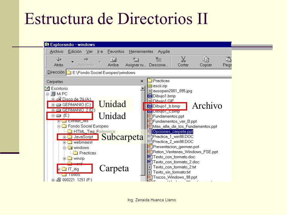 Estructura de Directorios II