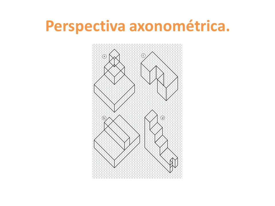 Perspectiva axonométrica.