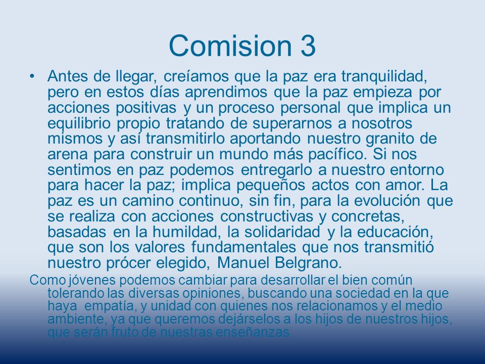 Comision 3