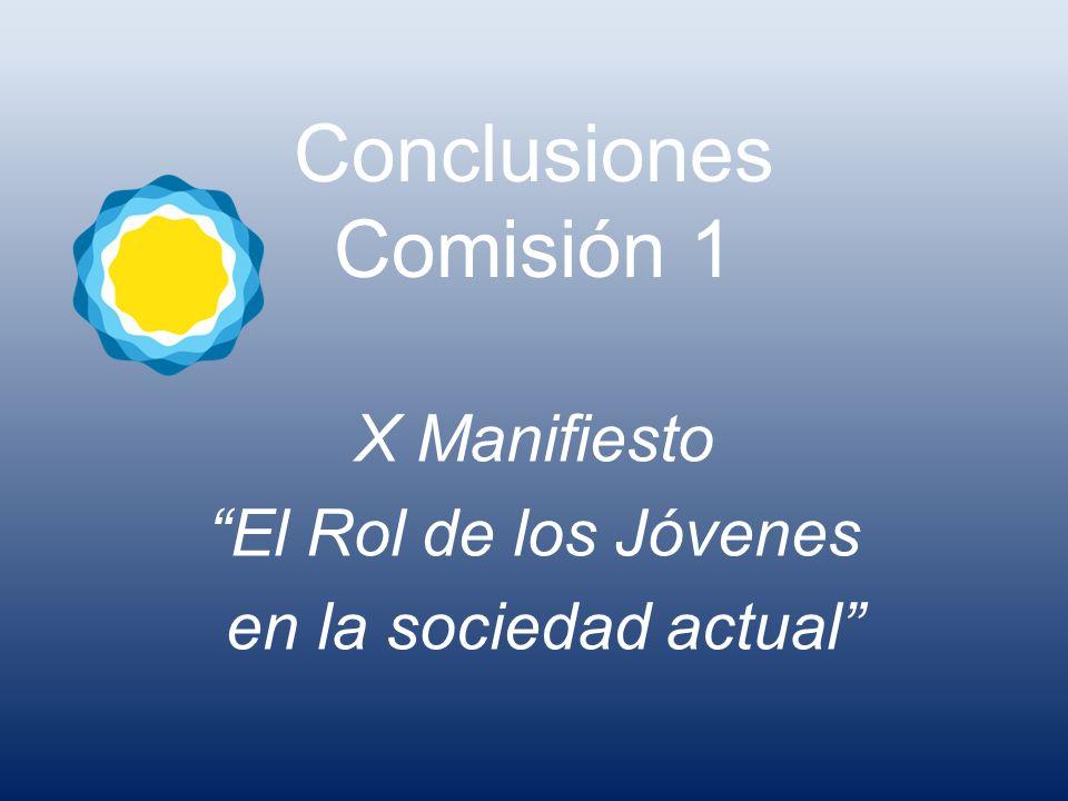 Conclusiones Comisión 1