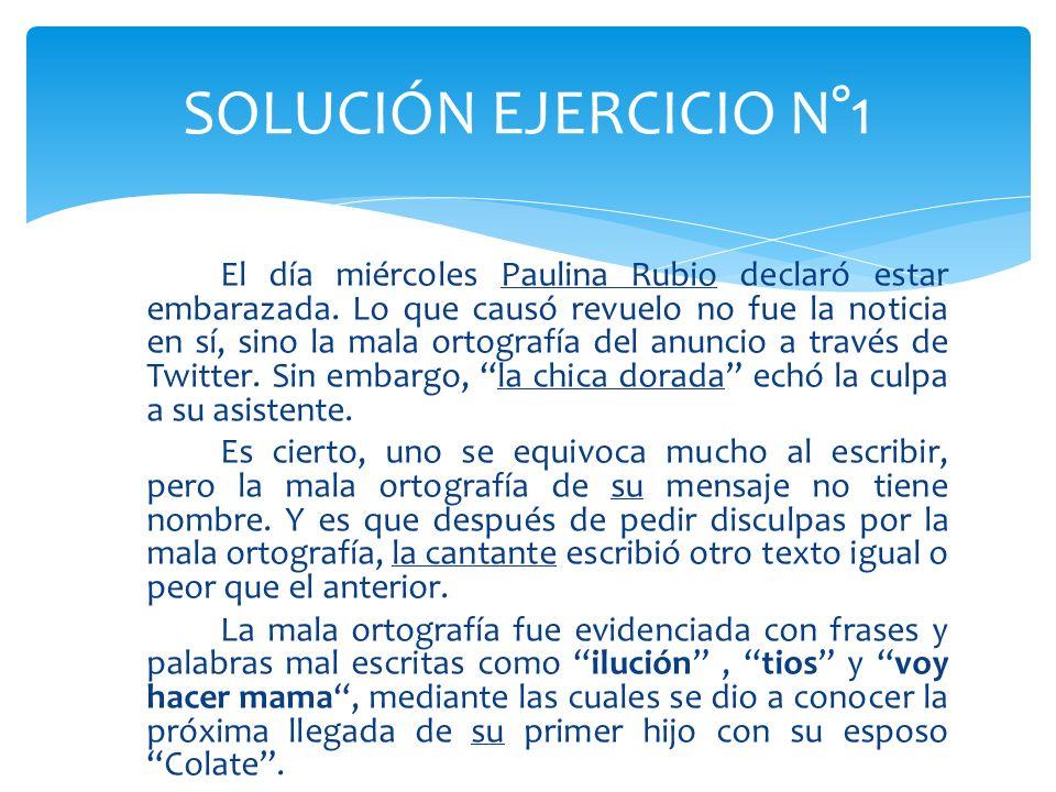 SOLUCIÓN EJERCICIO N°1