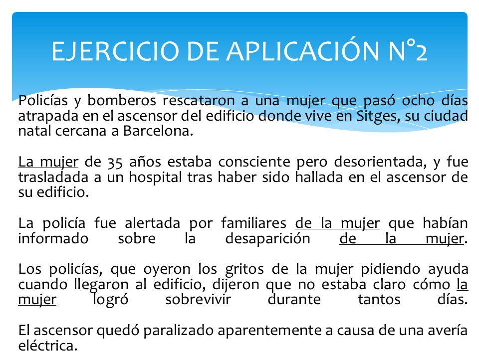 EJERCICIO DE APLICACIÓN N°2