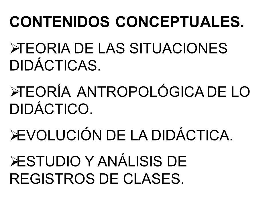 CONTENIDOS CONCEPTUALES.