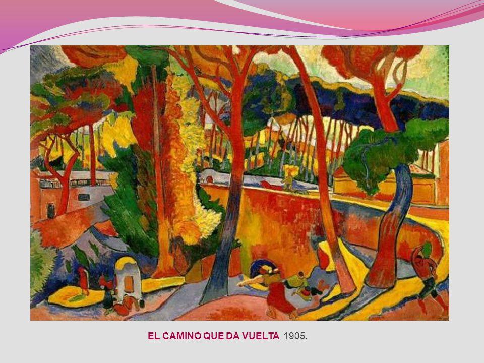 EL CAMINO QUE DA VUELTA 1905.