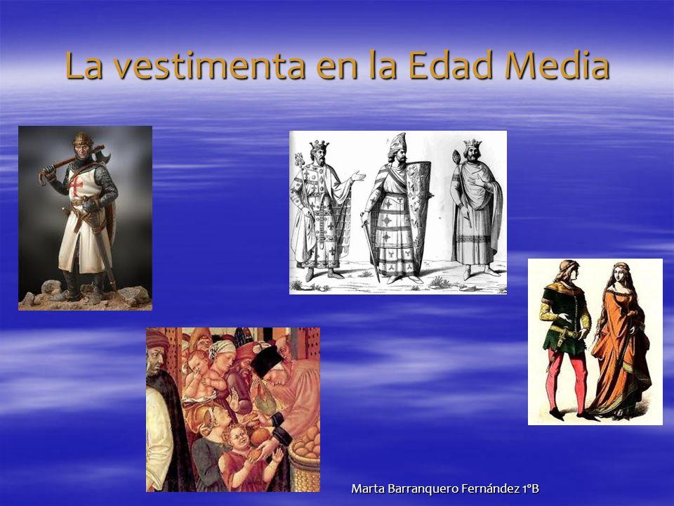 La vestimenta en la Edad Media