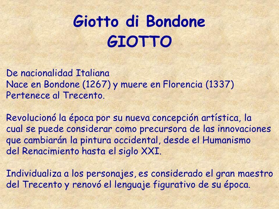 Giotto di Bondone GIOTTO