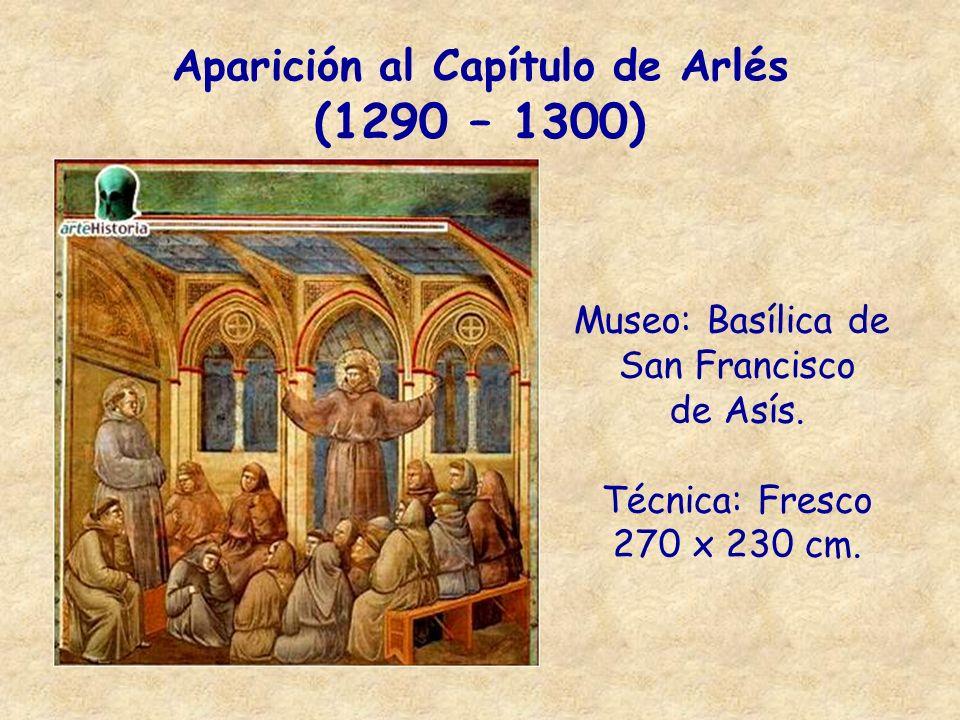 Aparición al Capítulo de Arlés (1290 – 1300)