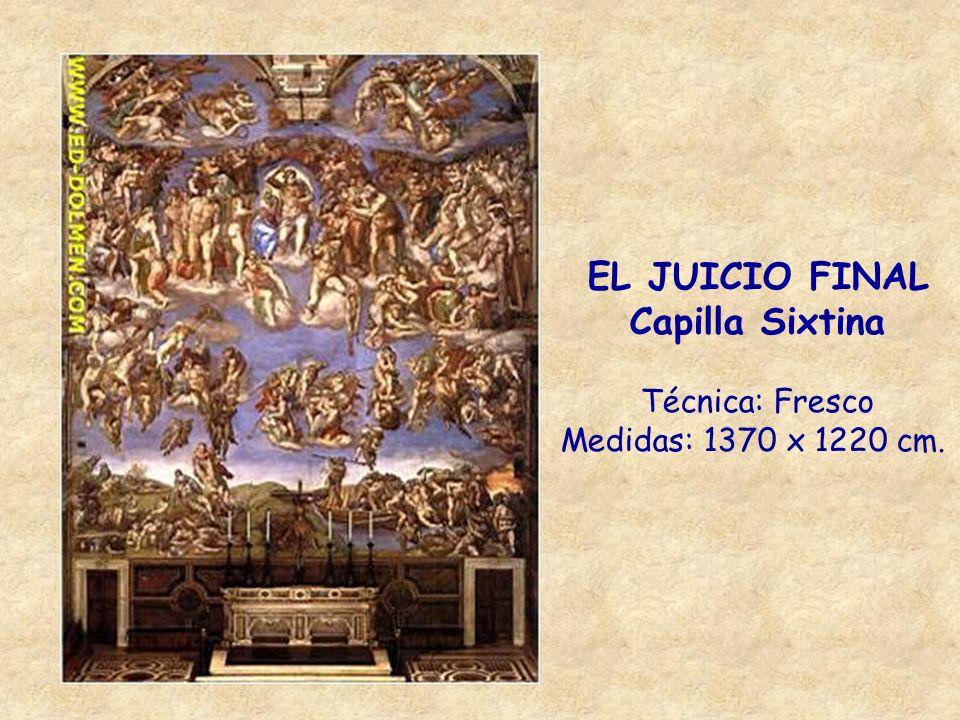 EL JUICIO FINAL Capilla Sixtina