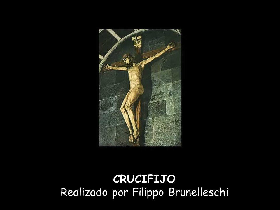 Realizado por Filippo Brunelleschi
