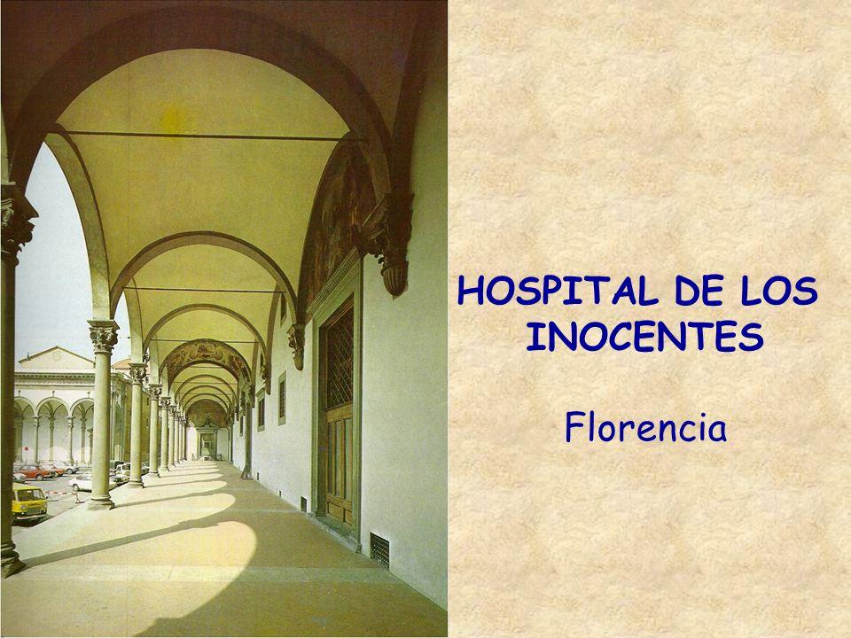 HOSPITAL DE LOS INOCENTES Florencia