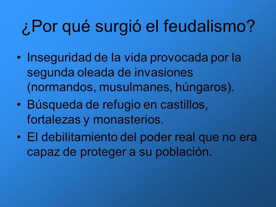 ¿Por qué surgió el feudalismo