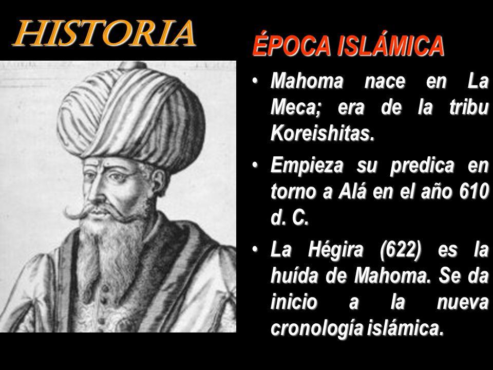 HISTORIA ÉPOCA ISLÁMICA