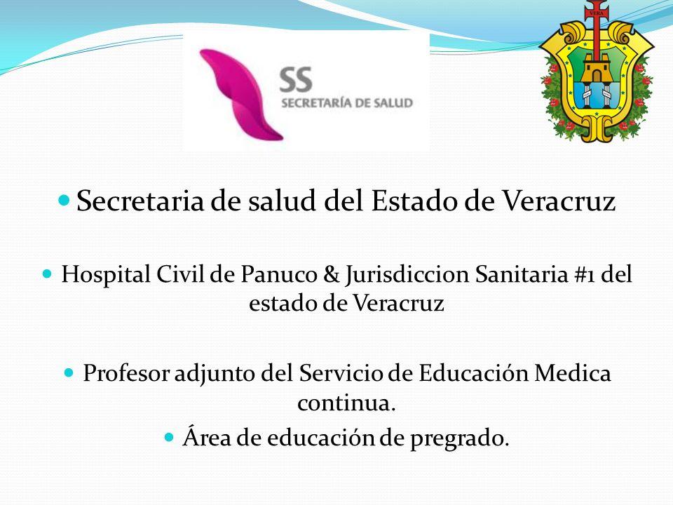 Secretaria de salud del Estado de Veracruz